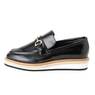 マーキュリーデュオ(MERCURYDUO)のマーキュリーデュオ 厚底ローファー(ローファー/革靴)