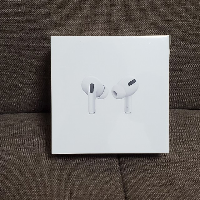 Apple(アップル)のエアポッズプロ エアポッツプロ airpods pro スマホ/家電/カメラのオーディオ機器(ヘッドフォン/イヤフォン)の商品写真