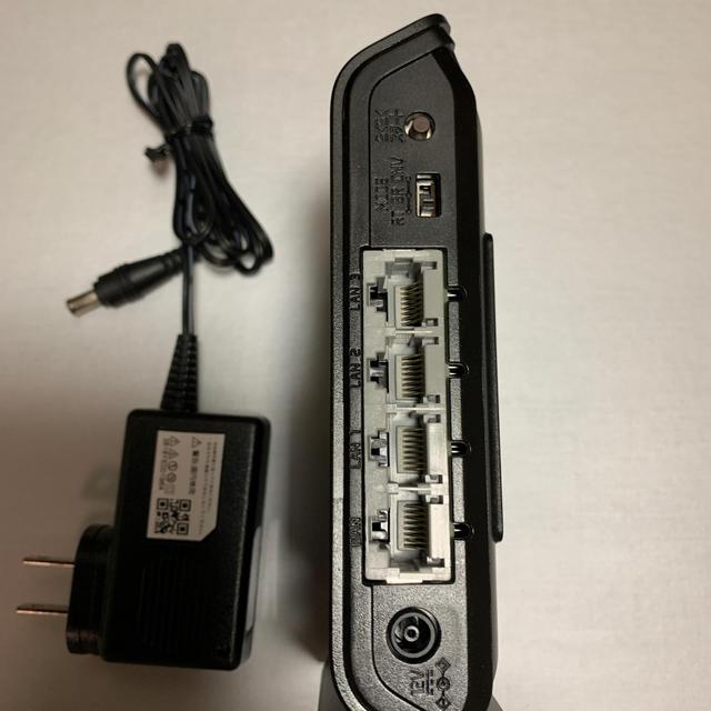 NEC(エヌイーシー)のNEC Aterm WG1200HP3 wi-fi無線LAN(美品) スマホ/家電/カメラのPC/タブレット(PC周辺機器)の商品写真