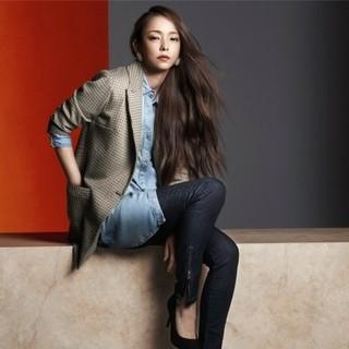 エイチアンドエム(H&M)のNamie Amuro x H&M 安室奈美恵 デニムロングシャツ 34(シャツ/ブラウス(長袖/七分))
