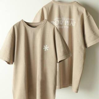 スノーピーク(Snow Peak)のジャーナルスタンダード×スノーピーク 別注  Tシャツ (Tシャツ/カットソー(半袖/袖なし))