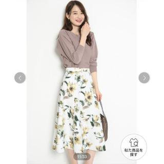 JUSGLITTY - ジャスグリッティー    花柄スカート