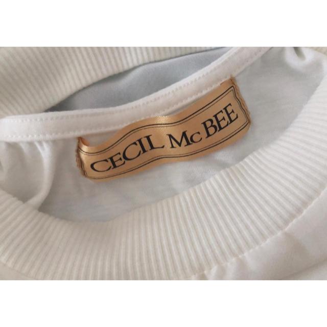 CECIL McBEE(セシルマクビー)のCECIL McBEE トップス レディースのトップス(カットソー(半袖/袖なし))の商品写真