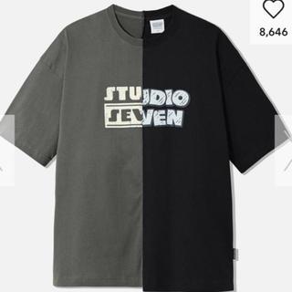 GU - GU STUDIO SEVEN オーバーサイズ 5分袖 Tシャツ