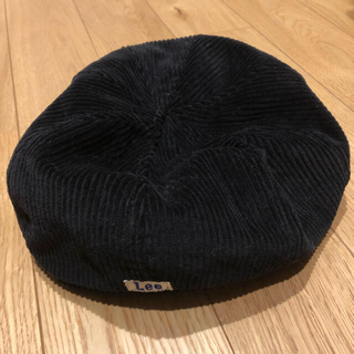 イーハイフンワールドギャラリー(E hyphen world gallery)のイーハイフン×Lee コラボ ベレー帽(ハンチング/ベレー帽)