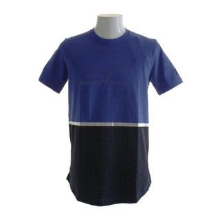 UNDER ARMOUR - 新品 Lサイズ アンダーアーマー Tシャツ 半袖 チャージドコットン ブルー