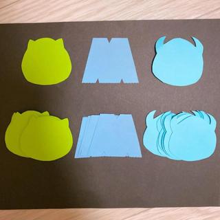 モンスターズインク*メッセージカード 壁面飾り(カード/レター/ラッピング)