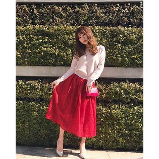 シェリーモナ(Cherie Mona)のCherie Mona フラワー刺繍ロングスカート(ロングスカート)