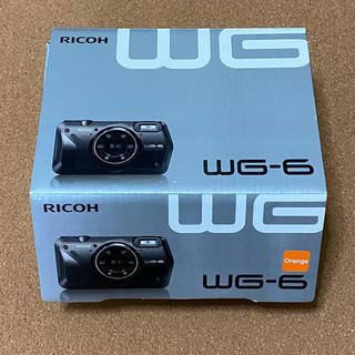 リコー(RICOH)のRICOH WG-6  オレンジ(コンパクトデジタルカメラ)