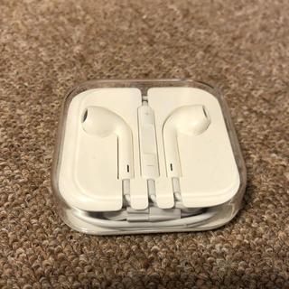 アイフォーン(iPhone)のイヤホンのみ  iPhone(ヘッドフォン/イヤフォン)