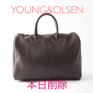 Ron Herman - YOUNG&OLSEN EMBOSSED LEATHER ボストンS