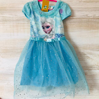 Disney - 【新品タグ付き】アナと雪の女王 エルサ ワンピース ドレス 100 110