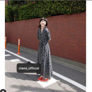 Ameri VINTAGE - clane ♡ SALVIA FLOWER ONE PIECE