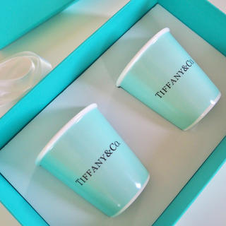 Tiffany & Co. - ✿Tiffany✿紙コップ風ペアマグカップ