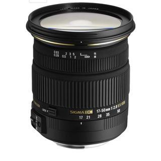 ニコン(Nikon)の(大特価)SIGMA 標準ズームレンズ 17-50mm F2.8 EX DC (レンズ(ズーム))