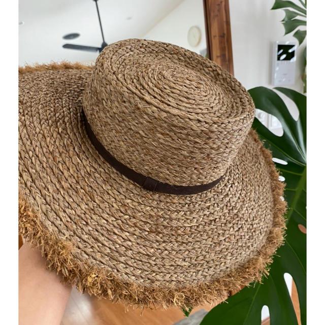 room306 CONTEMPORARY(ルームサンマルロクコンテンポラリー)のroom306 ラフィアハット レディースの帽子(ハット)の商品写真