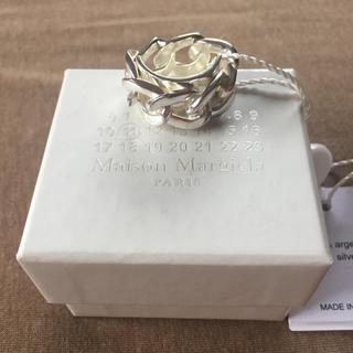 Maison Martin Margiela - S新品 メゾン マルジェラ シルバー チェーン リング 指輪 メンズ 19SS
