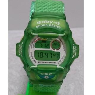ベビージー(Baby-G)のさゆ様専用 Baby-G 370 カスタム染色 グリーン(腕時計)
