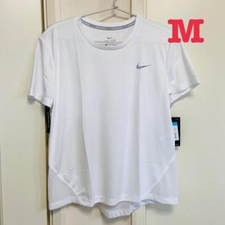 NIKE - 新品 ナイキ  半袖Tシャツ  スポーツウェア レディース Mサイズ ホワイト