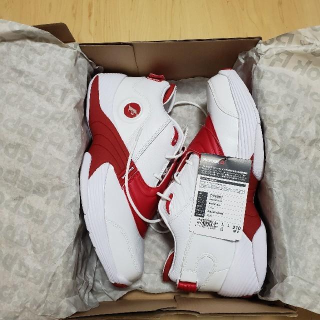Reebok(リーボック)のReebok リーボック アンサー answer 5 V 白 赤 27cm メンズの靴/シューズ(スニーカー)の商品写真