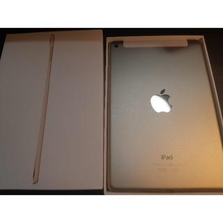 Apple - 【ほぼ新品・未使用!】iPad mini 4 Wi-Fi + Cellular