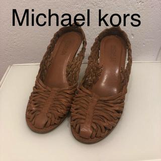 Michael Kors - マイケルコース レザーサンダル