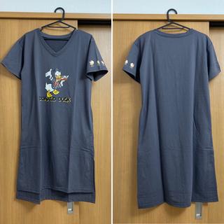Disney - ドナルドダック ロングTシャツ