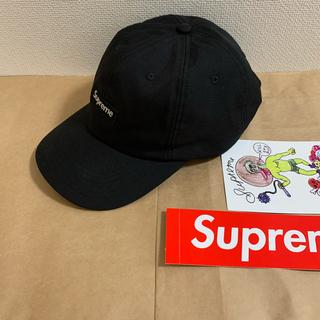 Supreme - 20ss 極美品 黒 supreme cordura small box cap