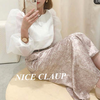 one after another NICE CLAUP - 今季♡セットマーメイドスカート ヘザー フーズフーチコ スナイデル gu