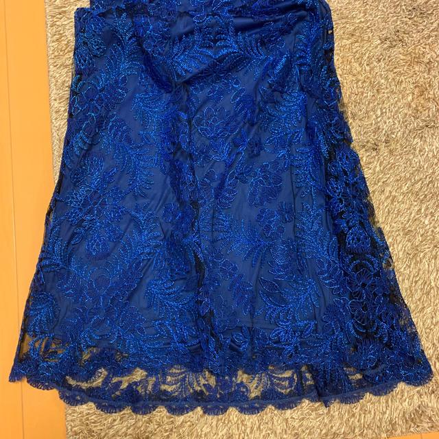 TADASHI SHOJI(タダシショウジ)のタダシショージ フローラル刺繍 レース ロングドレス レディースのフォーマル/ドレス(ロングドレス)の商品写真