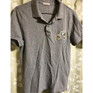 モンクレール(MONCLER)のモンクレール ポロシャツ ダブルワッペン 古着 送料込み(ポロシャツ)