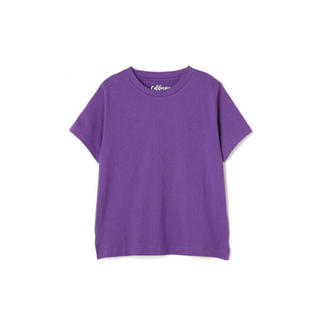 フリーズマート(FREE'S MART)のフリーズマート カルフォルニアコットンクルーネックTシャツ 紫(Tシャツ(半袖/袖なし))