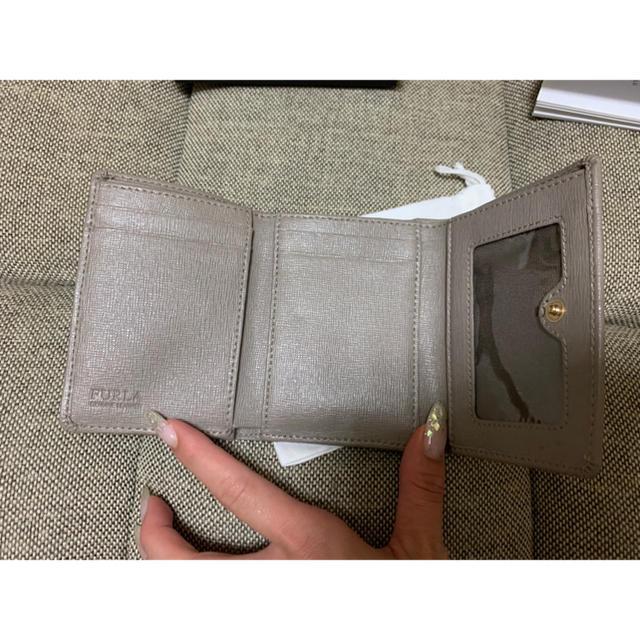 Furla(フルラ)のFURLA フルラ 財布 三つ折財布 グレージュ レディースのファッション小物(財布)の商品写真