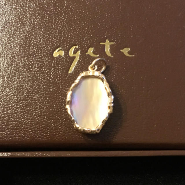 agete(アガット)のagete アガット クラシック  K10 オーロラ ネックレス チャーム  レディースのアクセサリー(チャーム)の商品写真