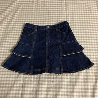 BURBERRY - バーバリーのデニムスカート