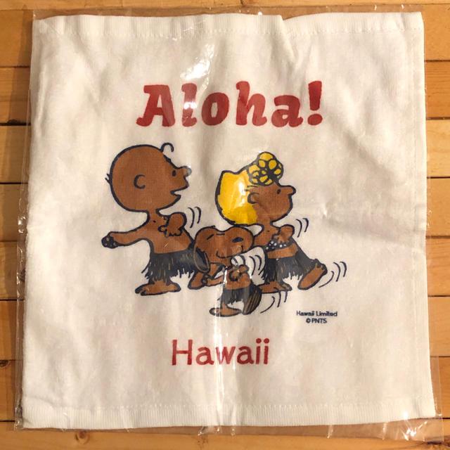 SNOOPY(スヌーピー)のハワイ限定 未開封 日焼けスヌーピー タオル エンタメ/ホビーのおもちゃ/ぬいぐるみ(キャラクターグッズ)の商品写真