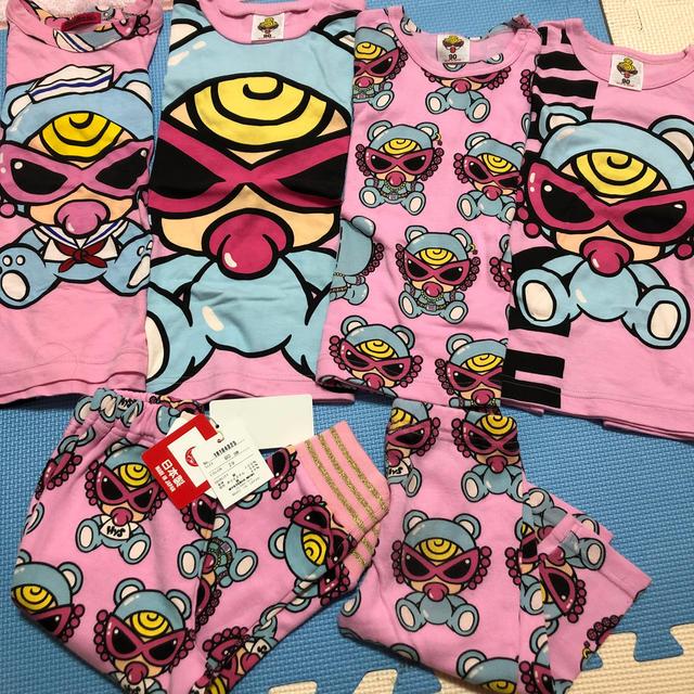 HYSTERIC MINI(ヒステリックミニ)のセット キッズ/ベビー/マタニティのキッズ服女の子用(90cm~)(Tシャツ/カットソー)の商品写真