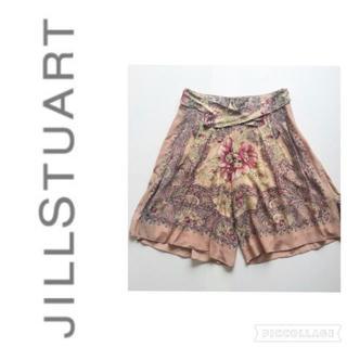 JILLSTUART - ジルスチュアート スカーフ柄シフォンパンツ