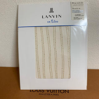 ランバンオンブルー(LANVIN en Bleu)のランバン ストッキング 新品(タイツ/ストッキング)