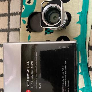 ライカ(LEICA)の美品 Leica SUMMILUX-M 35 F1.4  yosida様用(レンズ(単焦点))