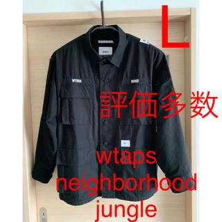 W)taps - wtaps neighborhood jungle shirt 03 L