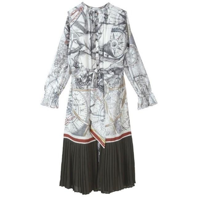 Ameri VINTAGE(アメリヴィンテージ)のアメリヴィンテージ クルーズスカーフドレス ワンピース レディースのワンピース(ロングワンピース/マキシワンピース)の商品写真