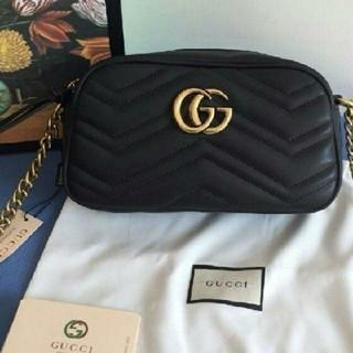 Gucci - 【極美品】グッチgucci GG マーモント ショルダーバッグ