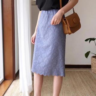 dholic - DHOLIC  レースタイトスカート