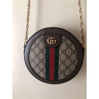Gucci - 美品 GUCCI ミニラウンドショルダーバッグ