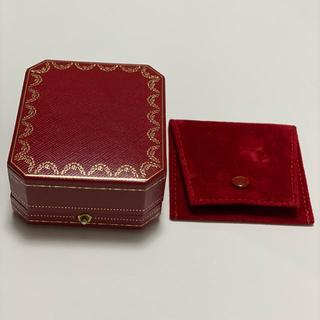 カルティエ(Cartier)のカルティエ ピアス用ジュエリーボックス &ジュエリーケース(ピアス)