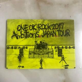 ONE OK ROCK - one ok rock ambitions dvd 2017