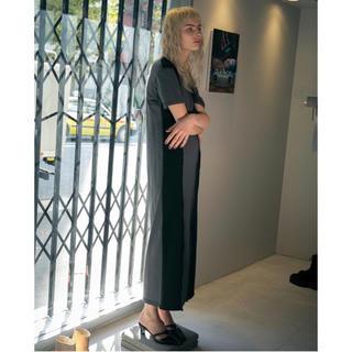 トーガ(TOGA)のPERVERZE Double Hole Long Dress / Black(ロングワンピース/マキシワンピース)