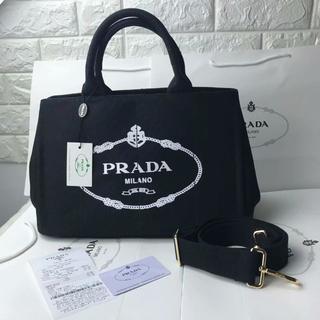 PRADA - プラダ PRADA カナパ トートバック ストラップ付き