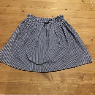 kumikyoku(組曲) - インナーショートパンツ付きストライプスカート130